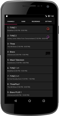 NextPVR Android client now available [Archive] - NextPVR Forums